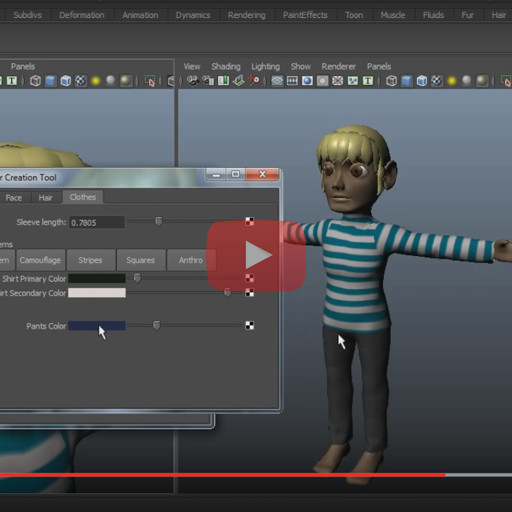 Avatar creation tool